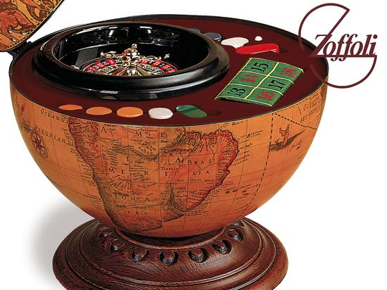 Globe bar roulette